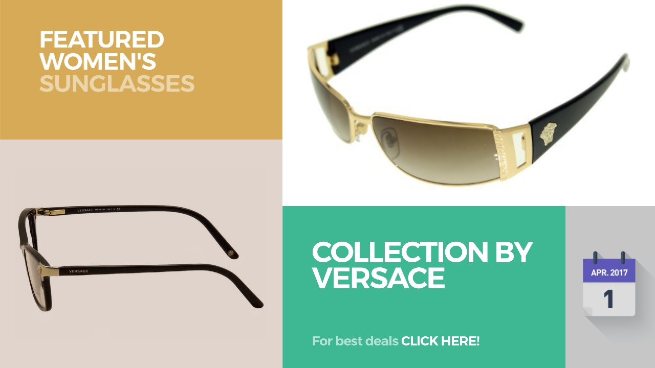 657e430073 Collection By Versace Featured Women s Sunglasses by  WomensFashion