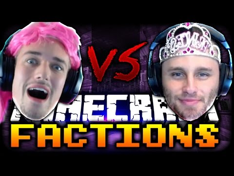 Minecraft: THE PRINCESS DRESS CHALLENGE | Factions VS SSundee - Ep: 10