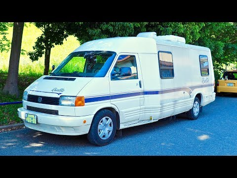 1996 VW Camper Winnebago Rialta (Canada Import) Japan Auction Purchase Review