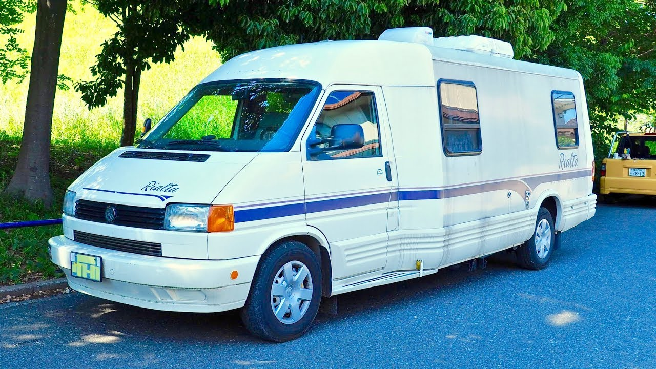 149c50cc9c 1996 Vw Camper Winnebago Rialta (Canada Import) Japan Auction Purchase  Review