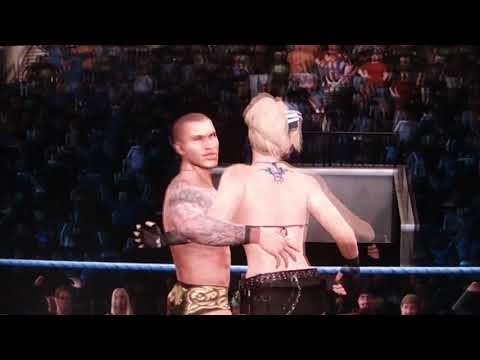 WWE Smackdown Vs Raw Male Female Mixed Tag Team [HD]