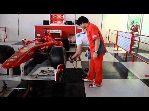 Как я менял колесо на F1