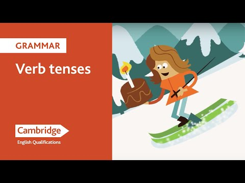 English Language Learning Tips - Tenses Part 1
