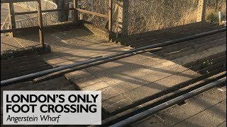 London's Only Railway Foot Crossing