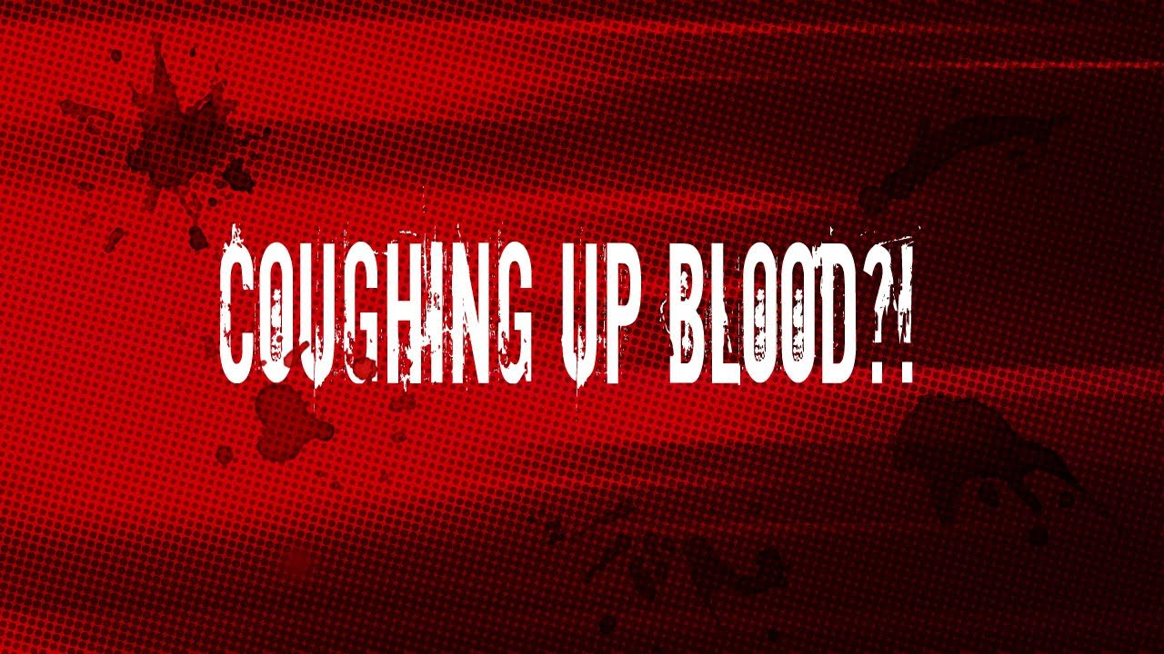 how to stop coughing up blood