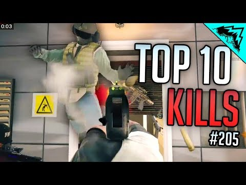 SIEGE RUSH - Top 10 Rainbow Six Siege Kills - WBCW #205 (Siege Top 10 Kills)