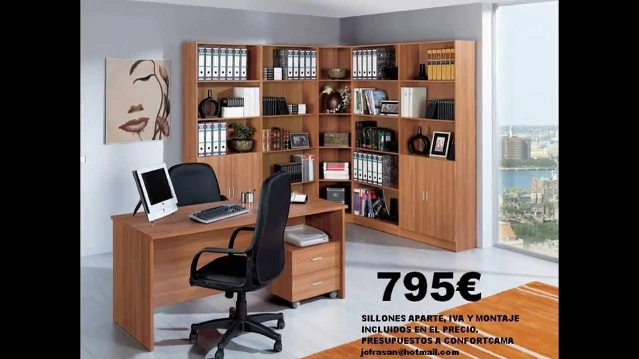 Muebles de despacho en castell n confort cama youtube - Muebles en castellon ...
