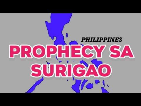 prophecy for surigao (cebuano)