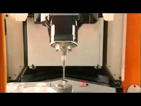 C CON INC Dallas TX Renishaw OMP40 Probe Calibration