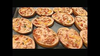 Горячие бутерброды-Быстро,вкусно,легко!!