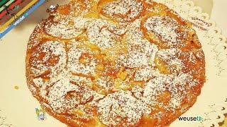 129 - Torta di mele arrovesciata...per la prossima abbuffata!(dolce perfetto soffice goloso e light)