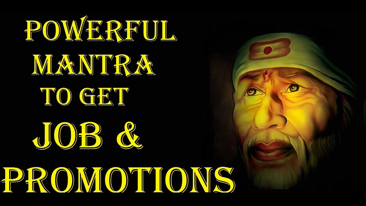 powerful sai baba mantra to quickly get desired job & promotions