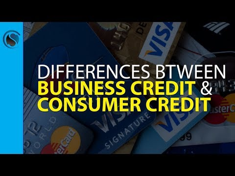 Business Credit Differences from Consumer Credit