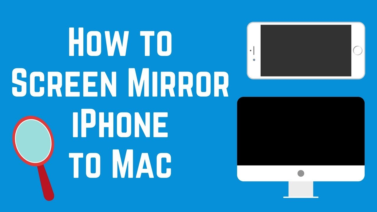 How to get screen mirroring on macbook air