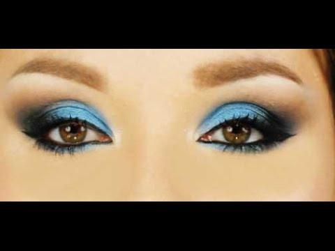 Trucco blu per occhi magnetici- Blue smokey eyes - YouTube d78dfeb53c17
