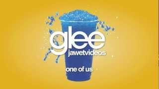 Glee Cast - One Of Us (karaoke version)