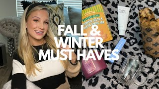 MY FALL FAVORITES (SLIPPERS, FOOD, CANDLES, ROḂES & MORE)