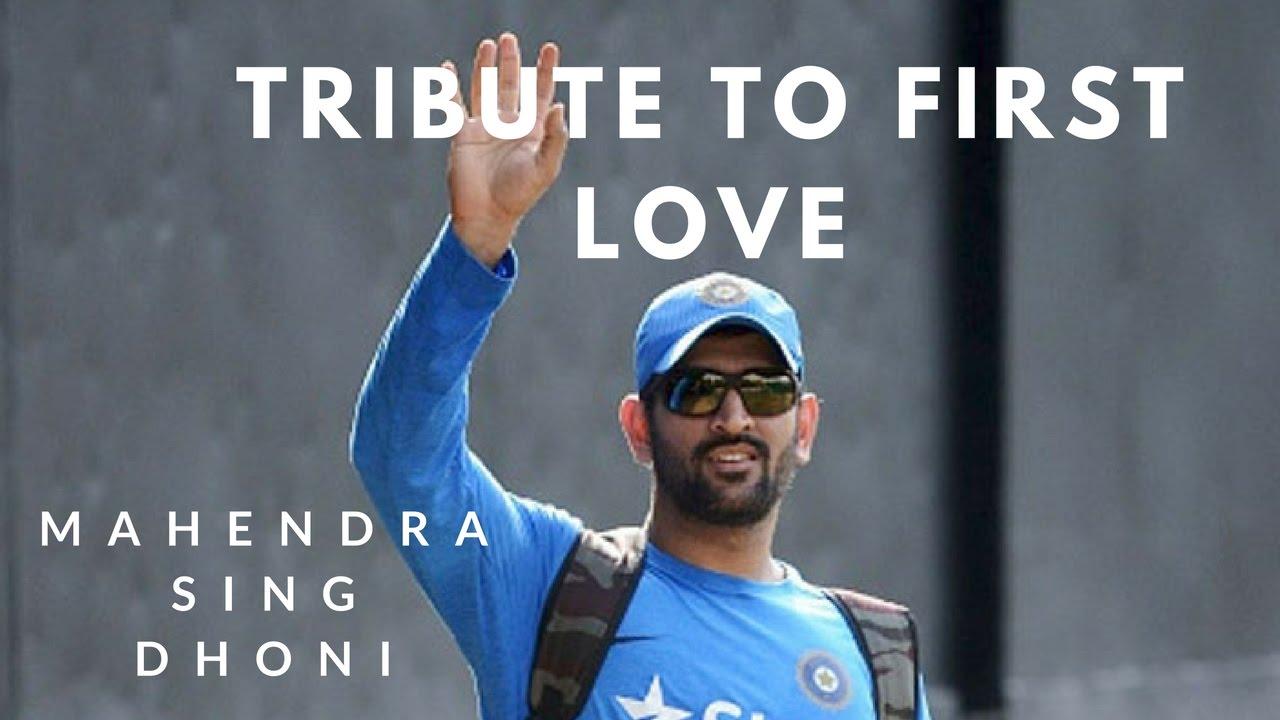 Dhoni Tribute To His First Love Priyanka - Youtube
