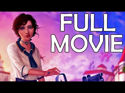 Bioshock Infinite - The Movie (Complete Story And All Cutscenes) - HD