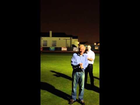 Pat Flaherty and Frank Deery ice bucket challenge