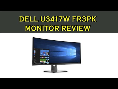 Dell U3417W FR3PK Monitor Review