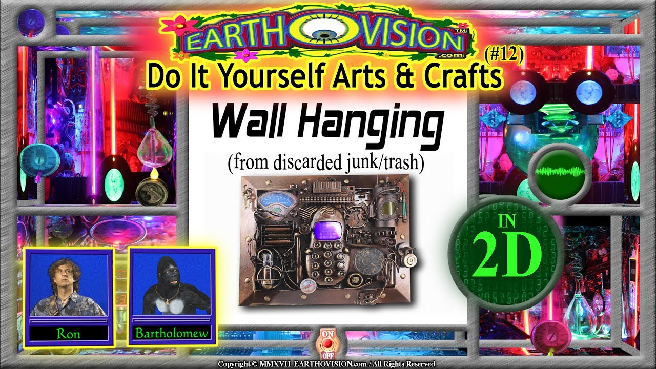 How to make a steampunk wall hanging from junktrashin 2ddo it how to make a steampunk wall hanging from junktrashin 2ddo it yourself arts crafts solutioingenieria Choice Image