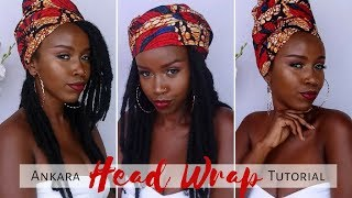 3 quick and easy headwrap turban styles trendy b fashion house ankara styles