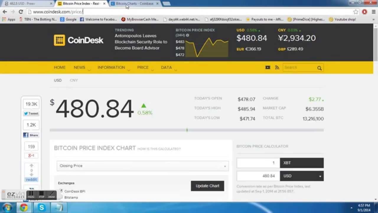 Bitcoin Price Checker