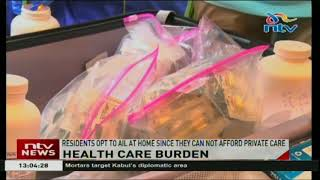 Embu county residents decry high cost of healthcare