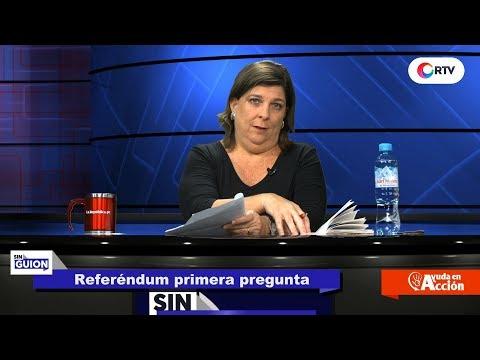Referéndum primera pregunta - SIN GUION con Rosa María Palacios