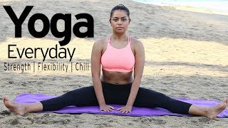 Everyday YOGA ROUTINE at Home | Top 10 Best Yoga Stretches to …