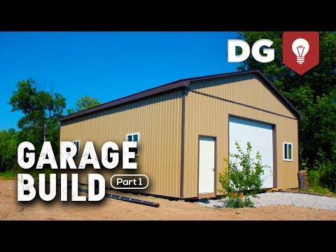 DAY 1: How To Build A Garage (For Your Brother)
