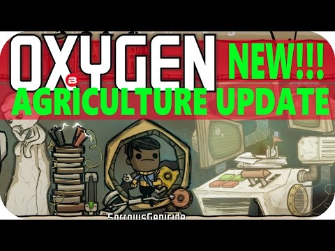 Oxygen Not Included: PANIC DERP PANIC Lets Play Oxygen Not Included AGRICULTURE UPDATE Gameplay #5