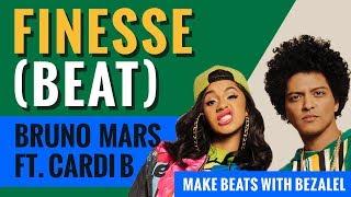 Bruno Mars - Finesse (Remix) ft. Cardi B beat instrumental ( 2018 remake)