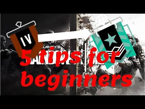 5 tips for beginners - Rainbow Six Siege