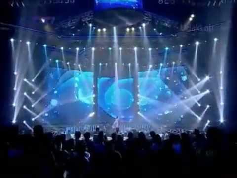 20120602 Jaclyn Victor & Afghan - Panah Asmara @Indonesian Idol 7