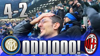 IL BOATO DI SAN SIRO! INTER 4-2 MILAN | LIVE REACTION SAN SIRO GOL HD