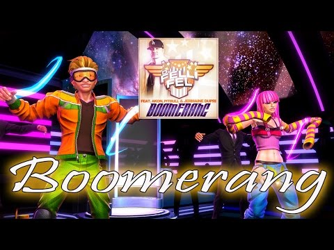 "Dance Central Fanmade - ""Boomerang"" Dj Felli Fel ft. Akon, Pitbull 