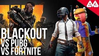 Como se compara Blackout con Fortnite y PUBG | ¿Será el nuevo rey del Battle Royale?