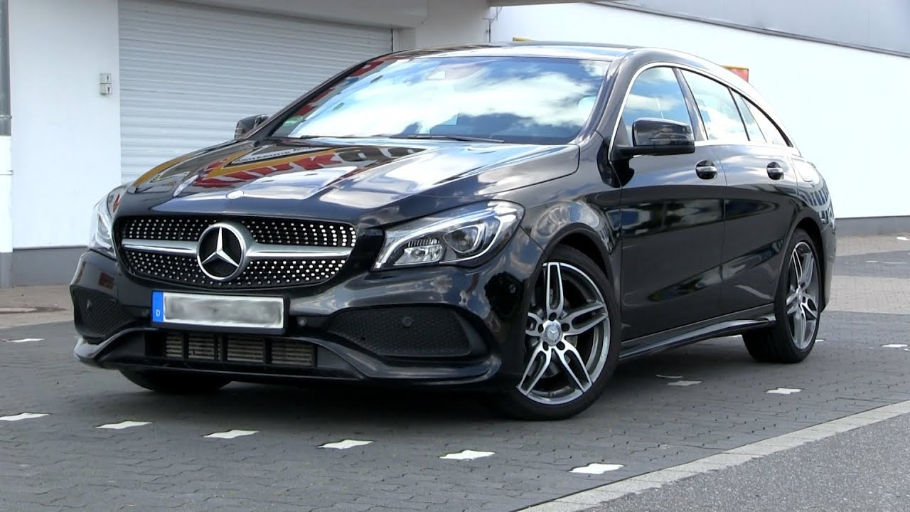2017 mercedes benz cla 220d shooting brake 177 hp test drive youtube. Black Bedroom Furniture Sets. Home Design Ideas