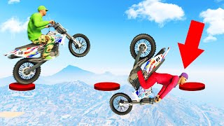 99% IMPOSSIBLE Bike Hop Skillcourse! (GTA 5 Funny Moments)