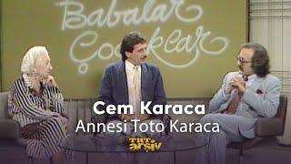 Cem Karaca ve Annesi Toto Karaca.