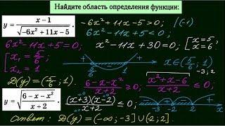 Область определения функции-2