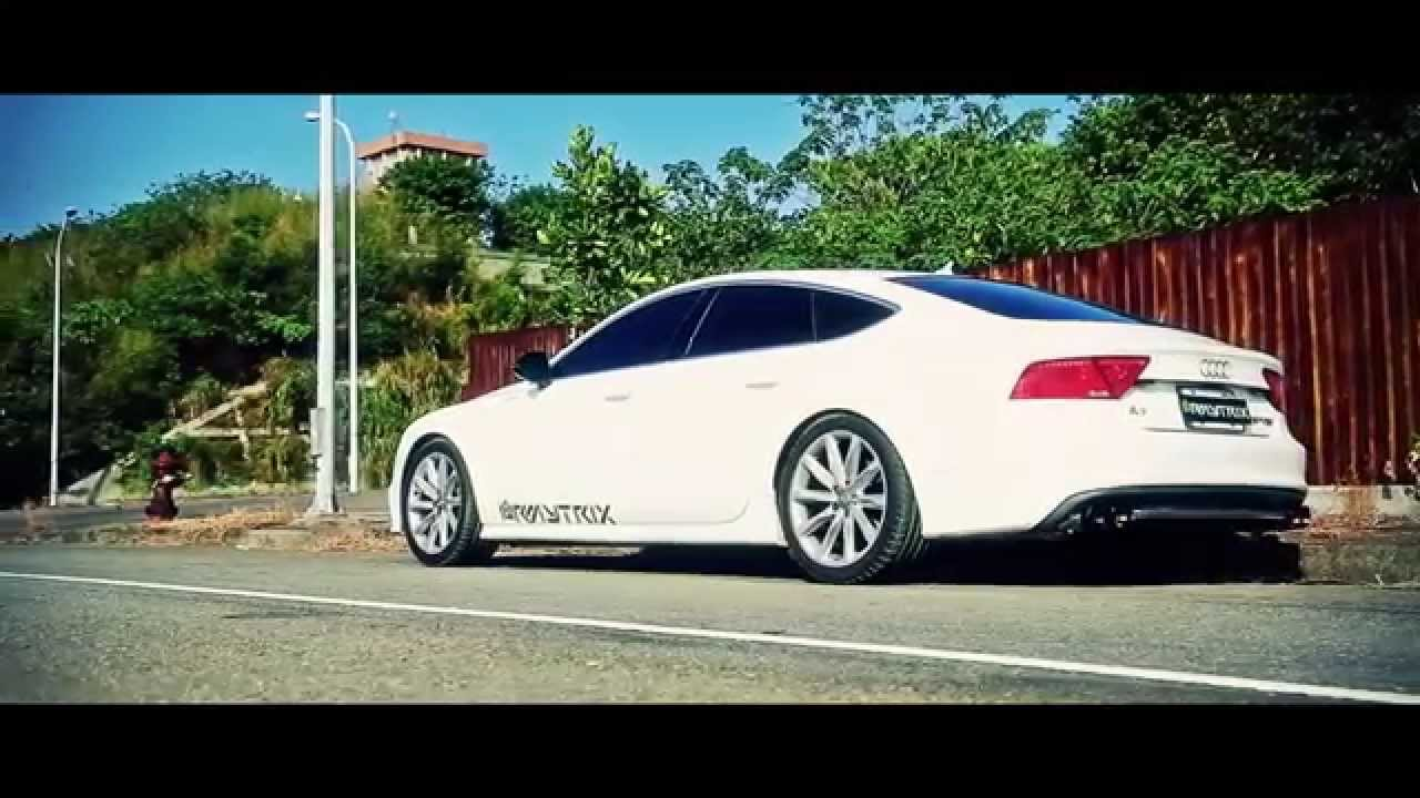 official video of audi a7 sportback featuring armytrix performance valvetronic exhaust youtube. Black Bedroom Furniture Sets. Home Design Ideas
