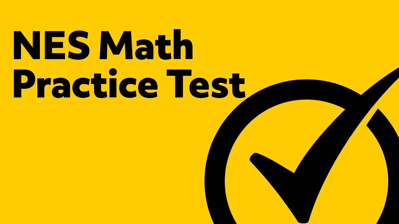 Free NES Math Practice Test - YouTube