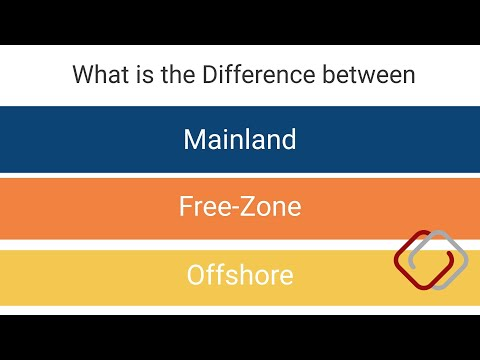 What is the Difference between Mainland, Free Zone and Offshore Company?