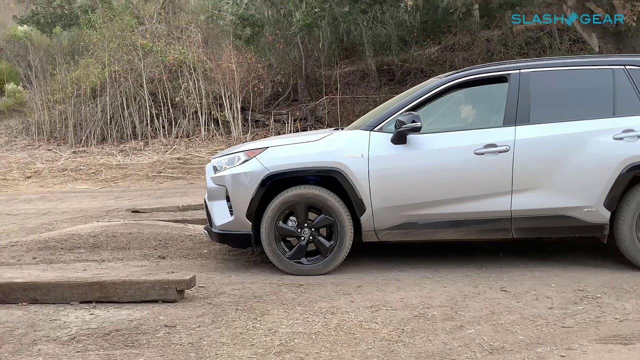 2019 Toyota Rav4 Off Road Youtube