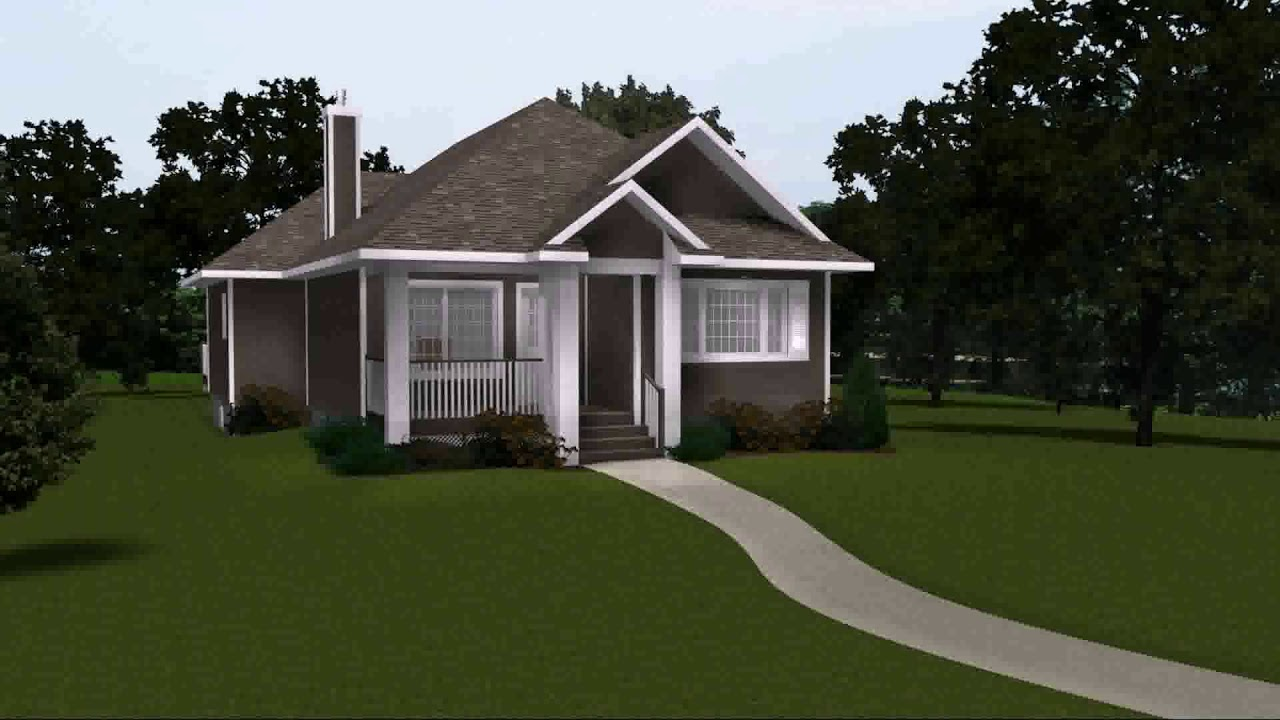 One story house plans without garage youtube for House floor plans without garage