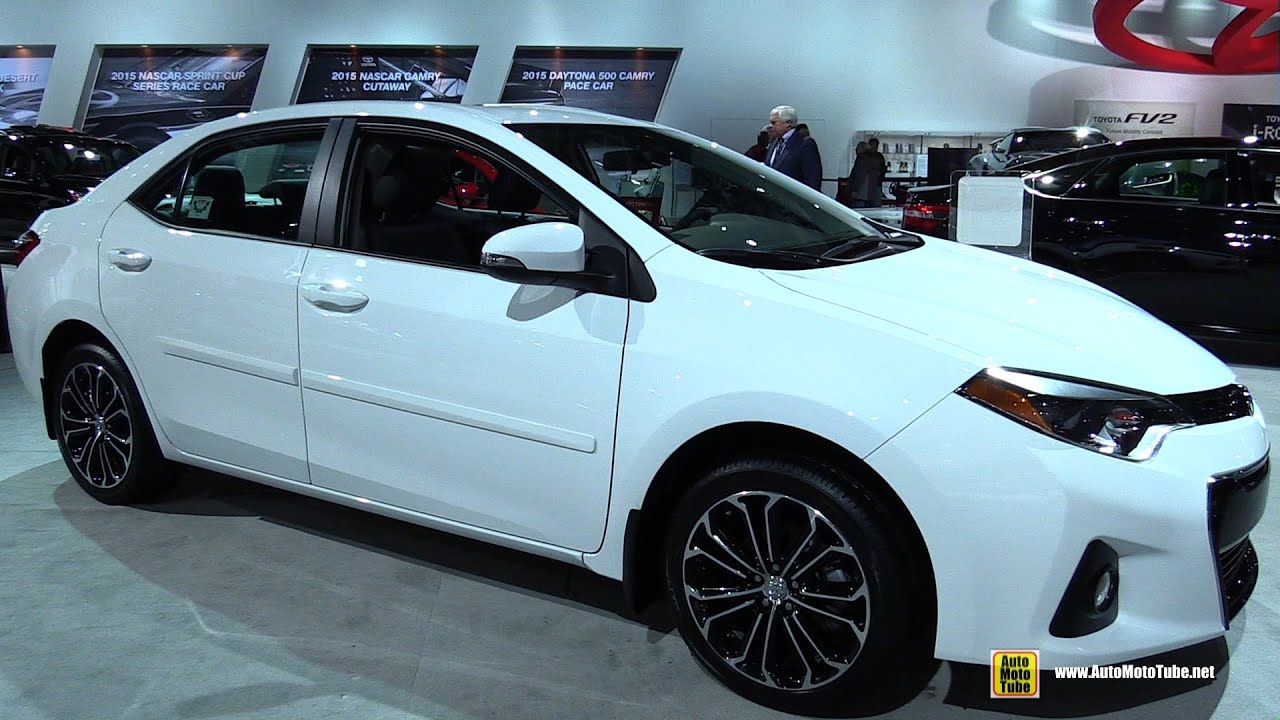2015 toyota corolla s exterior and interior walkaround 2015 detroit auto show viyoutube. Black Bedroom Furniture Sets. Home Design Ideas