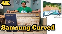 Samsung Curved 4k Smart TV 55 inch  7 Series nu7300 Unboxing